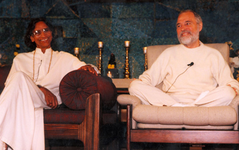 Swami Shri Kripalvanandaji, affectionately known to his disciples as Kripalu and Charles Burner
