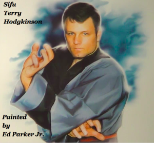 Sifu Terry Hodgkinson Portrait by Ed Parker Jr.