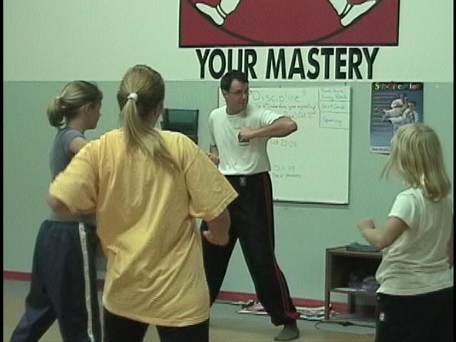 Terry Hodgkinson Sifu teaching Women's Self Defence